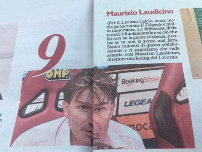 Inserto Maurizio Laudicino – Il Telegrafo, 8 luglio 2018