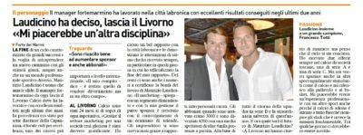Laudicino lascia il Livorno – Quotidiano Sportivo ed. Versilia, 06 giugno