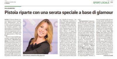 Pistoia riparte – Il Tirreno Sport, 24 giugno 2019